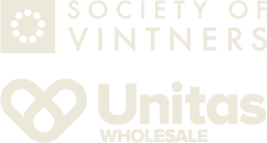 Society of Vintners and Unitas logos