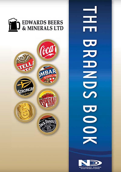 Edwards Brands Book front cover